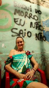 in mijn straatje in Rio. Van deze berg ga ik niet weg